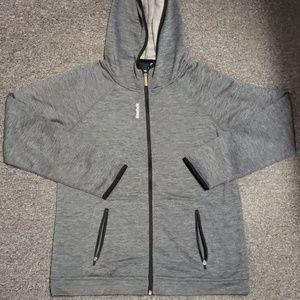 🌺 NWOT Women's Reebok zip-up jacket size L